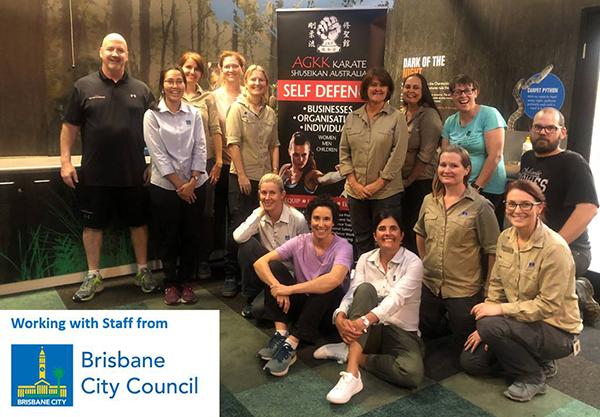 BRisbane City Council - Self Defence Training