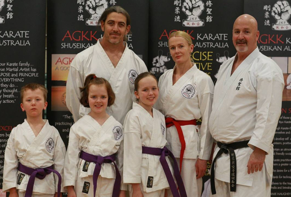 Family training in self defence