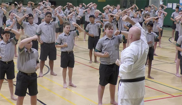 Self Defence Training at Your School