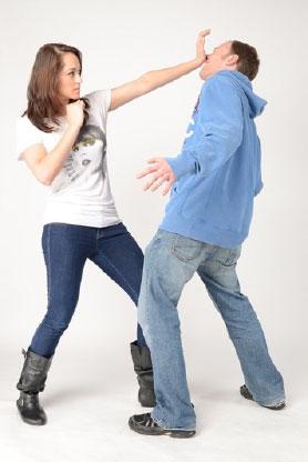 Womens Self-Defence Palm Strike